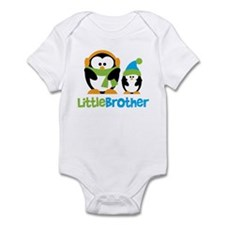 2 Penguins Little Brother Infant Bodysuit