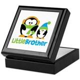 2 Penguins Little Brother Keepsake Box