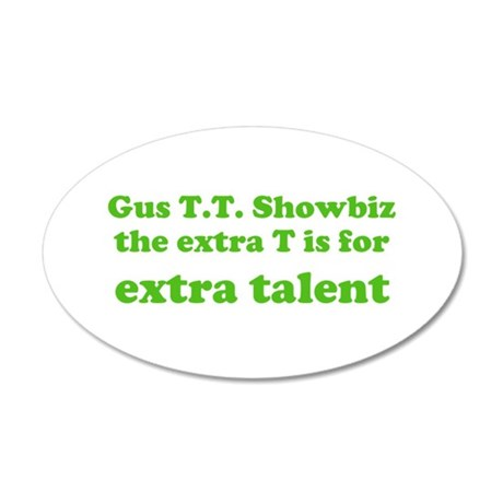 Extra Talent 22x14 Oval Wall Peel