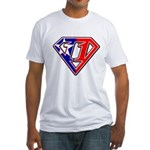 BSSMflag Fitted T-Shirt