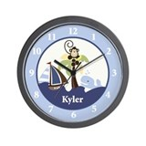Ahoy Mate Wall Clock - Kyler