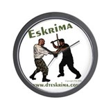 Eskrima Wall Clock