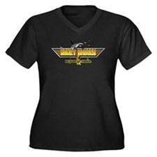 Honey Badger Top Gun Wingman Women's Plus Size V-N