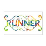 Colorful Runner 22x14 Wall Peel