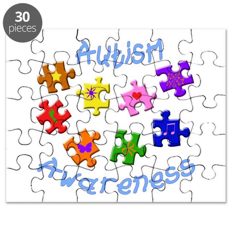 Autism Awareness Puzzle by honeymoonshop