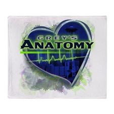 Grey's Anatomy TV Fan Throw Blanket