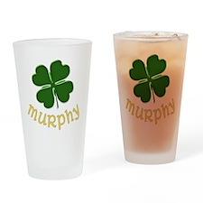 Irish Murphy Drinking Glass