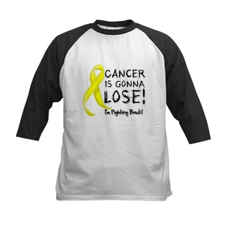 Sarcoma Cancer is Gonna Lose Kids Baseball Jersey