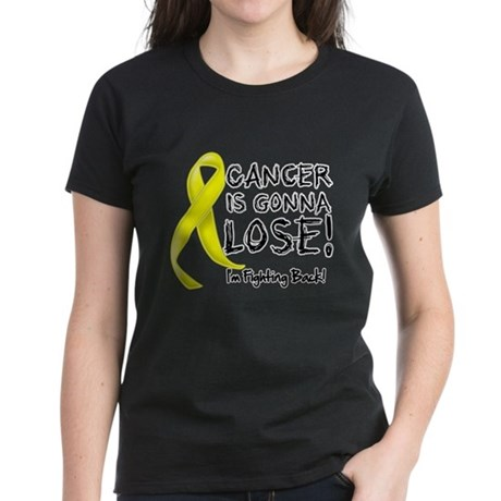 Sarcoma Cancer is Gonna Lose Women's Dark T-Shirt