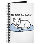 No Time for Hatin' Journal