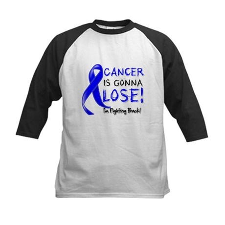 Rectal Cancer is Gonna Lose Kids Baseball Jersey