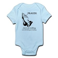 Prayer How to Do Nothing Infant Bodysuit