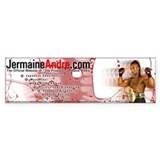 JermaineAndre.com Bumper Car Sticker