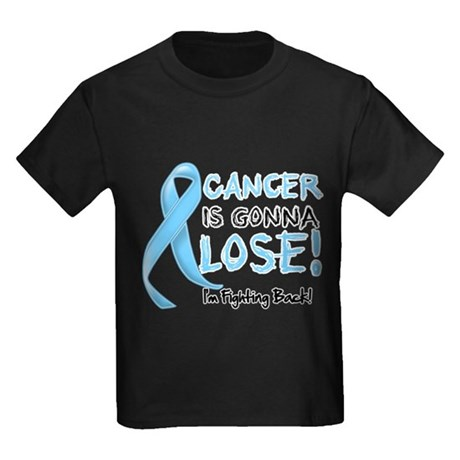 Prostate Cancer is Gonna Lose Kids Dark T-Shirt