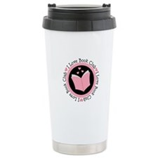 I Love Book Club Reading Ceramic Travel Mug