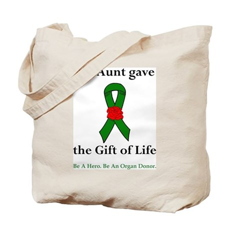 Aunt Donor Tote Bag