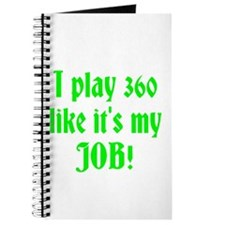 I play 360 like it's my JOB! Journal