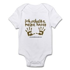 MOV Ich Scheisse Meine Hosen German Infant Onesie
