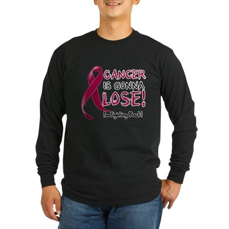 Multiple Myeloma Gonna Lose Long Sleeve Dark T-Shi