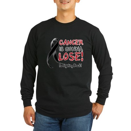 Melanoma is Gonna Lose Long Sleeve Dark T-Shirt