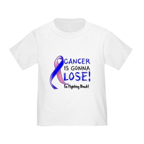 Male Breast Cancer Gonna Lose Toddler T-Shirt