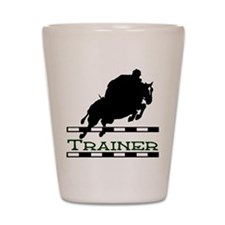 Jumping Trainer Shot Glass