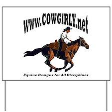 Cowgirly.Net Yard Sign