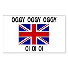 OGGY OGGY OGGY OI OI OI | Rectangle Decal