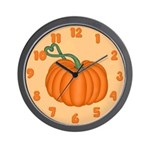 Pumpkin Wall Clock
