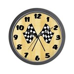 Checkered Wall Clock