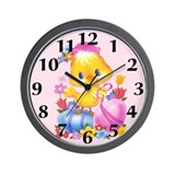 Easter Chick Wall Clock