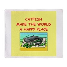 catfish Throw Blanket