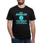 Mine Women's V-Neck Dark T-Shirt