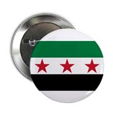 "pre-1963 Flag of Syria 2.25"" Button (10 pack)"