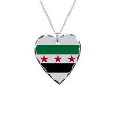 pre-1963 Flag of Syria Necklace