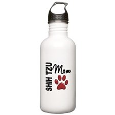 Shih Tzu Mom 2 Sports Water Bottle