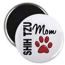 "Shih Tzu Mom 2 2.25"" Magnet (10 pack)"