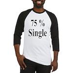75% Single Baseball Jersey