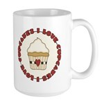 I Love Cupcakes Large Mug