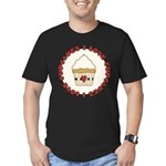 I Love Cupcakes Men's Fitted T-Shirt (dark)