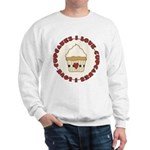 I Love Cupcakes Sweatshirt
