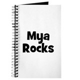Mya Rocks Journal