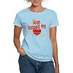 Alan Lassoed My Heart Women's Light T-Shirt