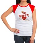 Alan Lassoed My Heart Women's Cap Sleeve T-Shirt