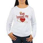 Alan Lassoed My Heart Women's Long Sleeve T-Shirt