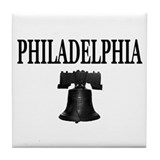 Unique Philadelphia Tile Coaster