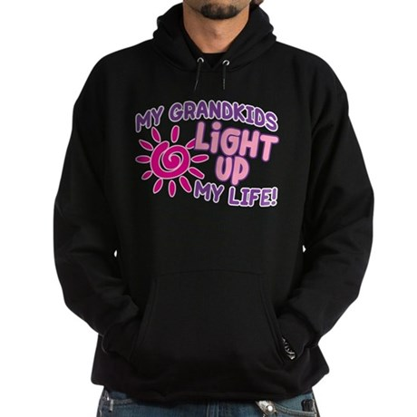 GRANDKIDS LIGHT UP MY LIFE Hoodie (dark)
