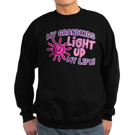 GRANDKIDS LIGHT UP MY LIFE Sweatshirt (dark)