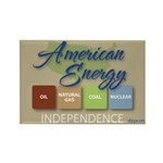 American Energy Independence Rectangle Magnet