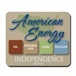 American Energy Independence Mousepad